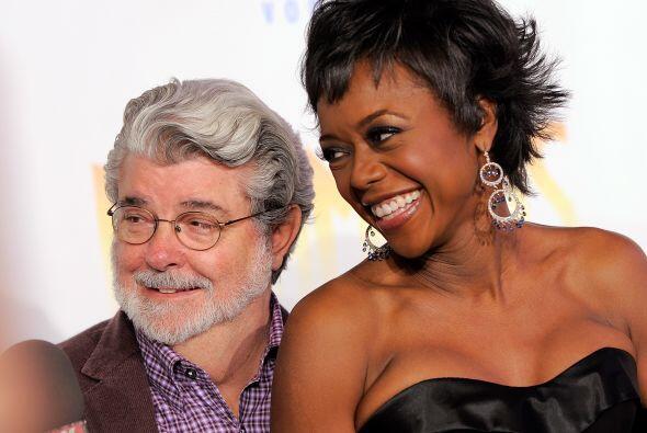 George Lucas y Mellody Hobson se juraron amor eterno en junio de este a&...