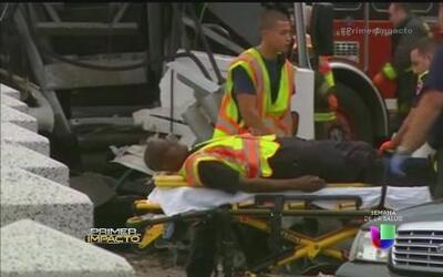 Caos en el aeropuerto de Chicago por accidente de un autobús