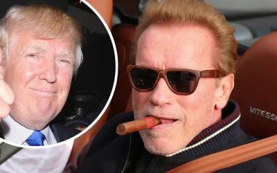 Arnold Schwarzenegger no votará por Donald Trump