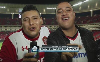 El fan más cool, fanáticos de Chivas y Toluca hablaron después del parti...
