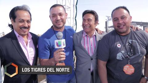 Los Tigres del Norte expresan su orgullo al ser parte de 'RiseUp AS ONE'