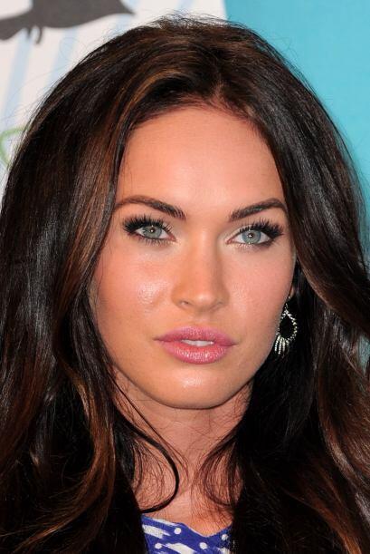 El secreto para una mirada salvaje como la de Megan Fox... Unas pestañas...