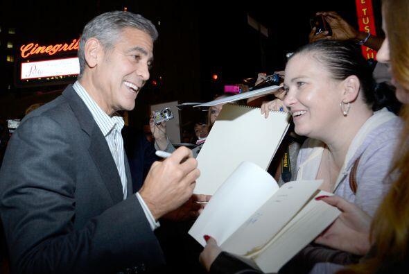 """""""¡Hola George Clooney! ¿Me darías tu aut&oacute..."""