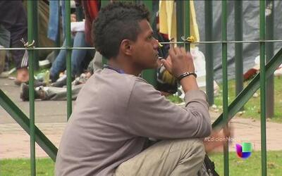 Las improvisadas cárceles de Colombia