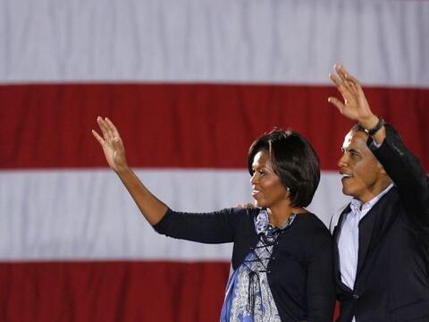 El presidente Barack Obama puso este domingo una dosis de energía...