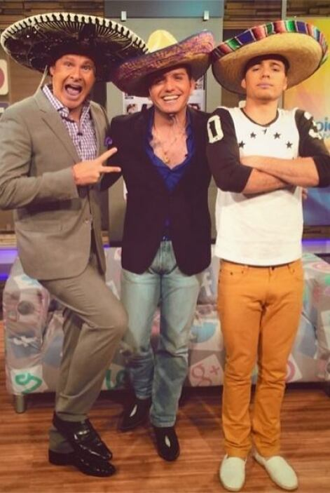 """¡Los 3 amigos! @alantacher_ & @eldasa"", compartió William. (Julio 28, 2..."