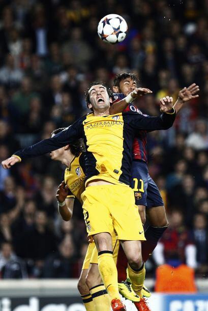 El Barcelona tenía algunos problemas con los contragolpes del Atl...