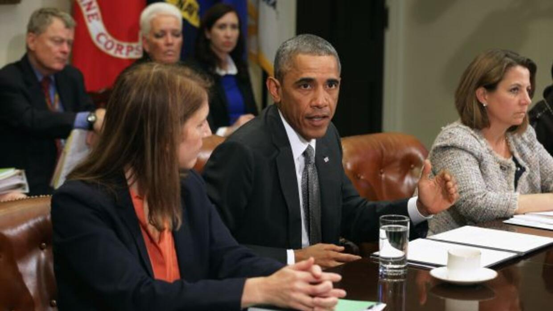 Barack Obama tendrá una reunión con varios funcionarios para analizar la...