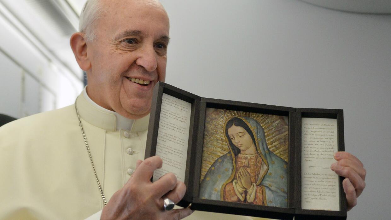 Papa Francisco, México, Virgen de Guadalupe