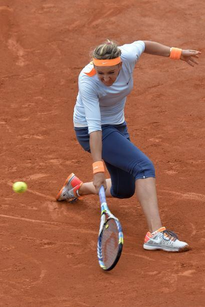 Azarenka nunca ha superado los cuartos de final del Grand Slam de Par&ia...
