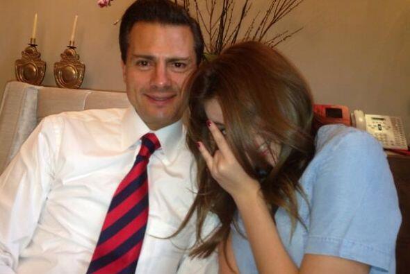 Está feliz con la nueva pareja de Angélica Rivera.