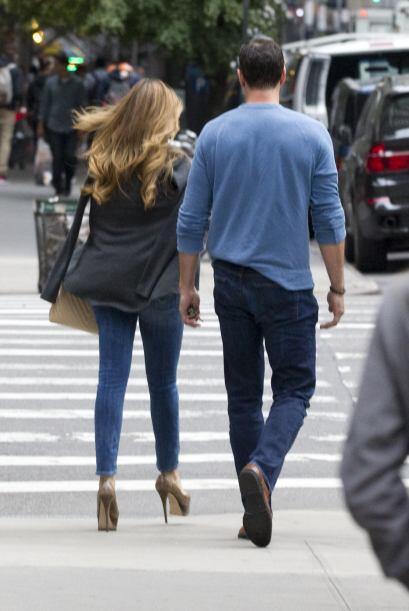 Estaban muy juntos, cosa que llamó mucho la atención de los paparazzi.