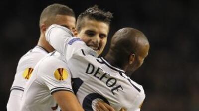 Lamela y Defoe hicieron los goles para los 'Spurs' que valieron la clasi...