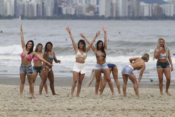 Sin embargo, al final sólo quedaron 27 chicas, las cuales representan va...