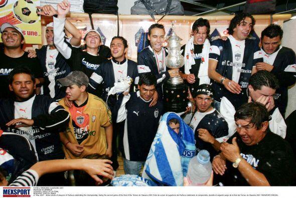 Las Águilas no olvidan el Clausura 2007 en el que Pachuca se proclamó ca...