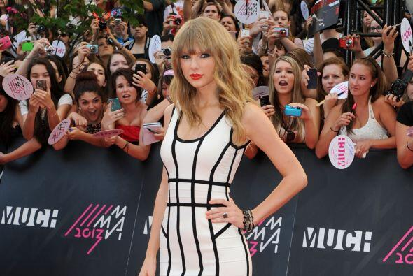 6. Taylor Swift  Ganancias netas: $55 millones.  Presencia en radio y tv...