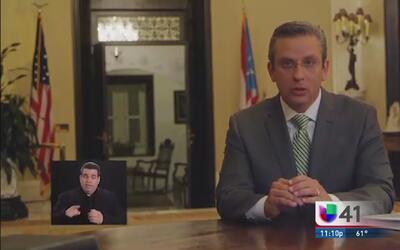 Gobernador de PR busca solucionar déficit