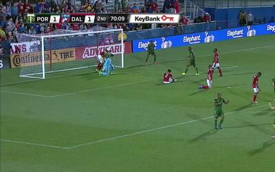 El argentino Sebastián Blanco marca su primer gol en la MLS con los Timb...