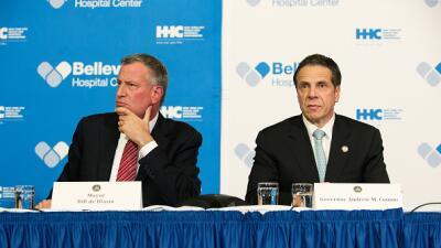 """Alcalde de Nueva York acusa al gobernador de """"venganzas"""" políticas"""