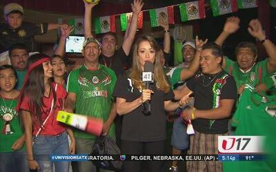 Fans de San Antonio vibraron con el partido de México y Brasil