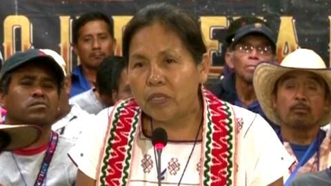 Mujer indígena se postula a la presidencia de México para el 2018