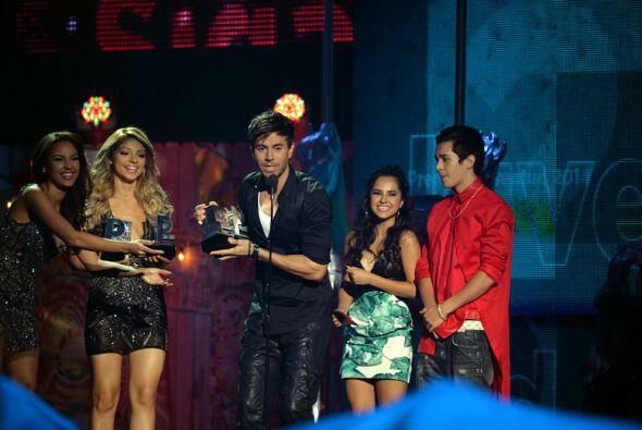 El ganador fue Enrique Iglesias, que también se llevó los premios de Mi...