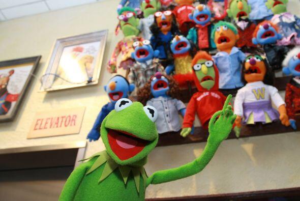 """Jim Henson, el creador de """"Los Muppets"""". Inclusive hizo que la rana Kerm..."""