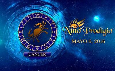 Niño Prodigio - Cáncer 6 de mayo, 2016