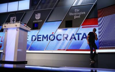 Debate demócrata