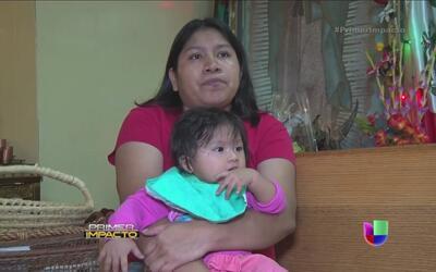 Una iglesia en Chicago se convirtió en el refugio de una mujer