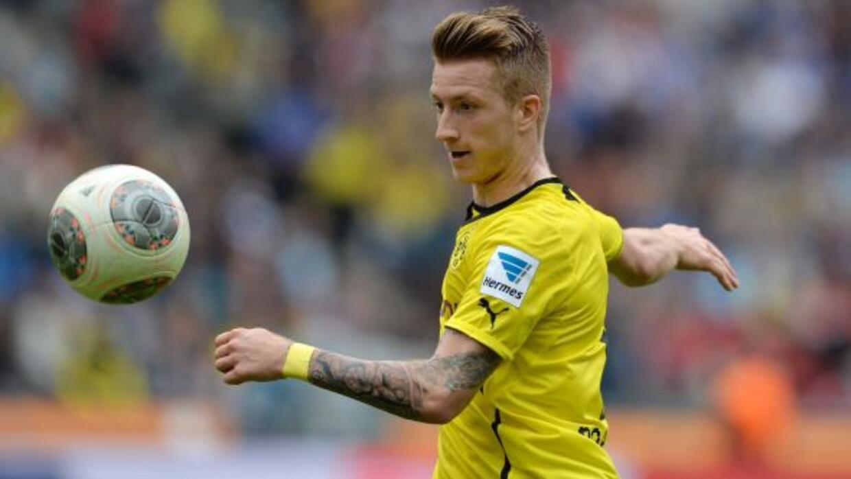 Reus fue elegido como el mejor futbolista de campo en la temporada que r...