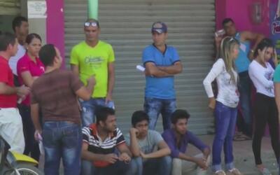 Cubanos en Colombia aseguran que prefieren quedarse en la selva antes de...