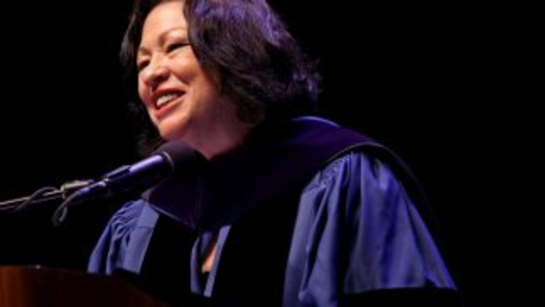 Sonia Sotomayor, la jueza de la Corte Suprema de Justicia, es la persona...
