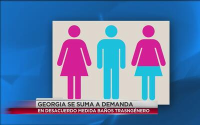 Georgia se suma a demanda en desacuerdo a baños transgénero