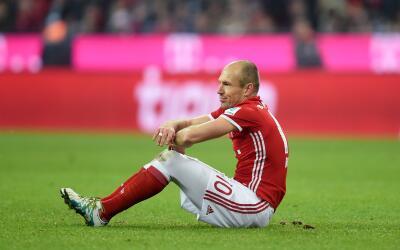 Arjen Robben, crítico con quienes se van a China