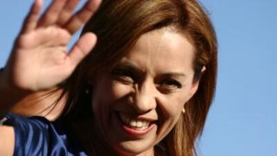 La candidata presidencial Josefina Vázquez Mota.