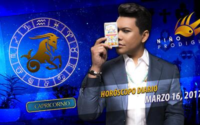 Niño Prodigio - Capricornio 16 de marzo, 2017