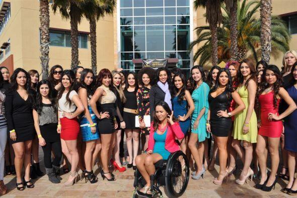 Un grupo de chicas bellas, inteligentes y con mucho talento.