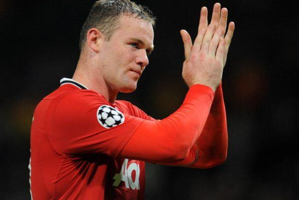 Cuando el partido terminaba apareció Wayne Rooney y decretó el 2 a 0.