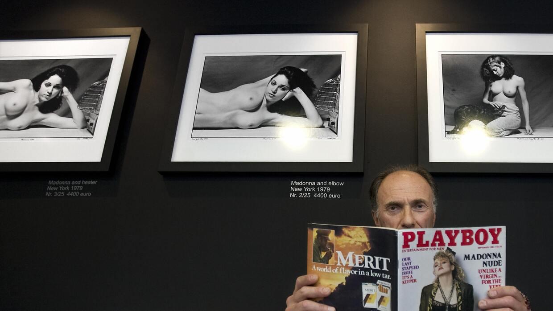 En 1985, aparecen en Playboy fotos que Martin Schreiber le hizo a Madonna.