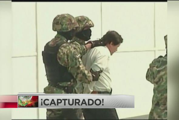 ¡Capturado El Chapo Guzmán!: Agentes federales de Mé...