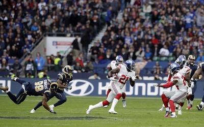 Landon Collins fue el héroe de los Giants para vencer a los Rams en Londres