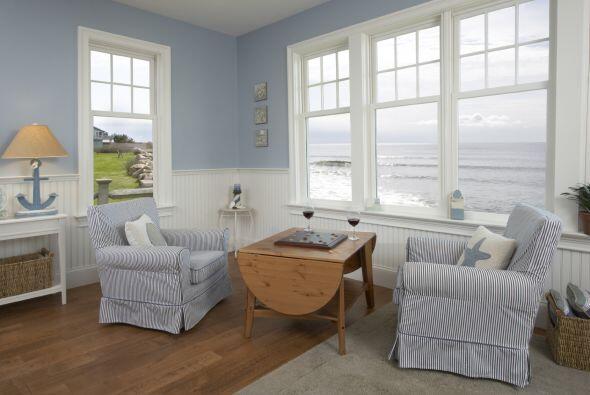 Estilo. Para una casa de estilo campestre o rústico, las mesas ovaladas...
