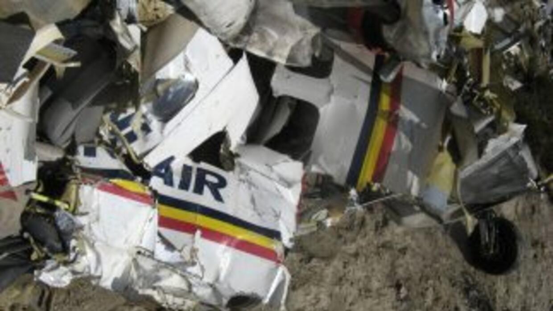 Una llamada del piloto reportó fallas en el motor antes de perder el con...