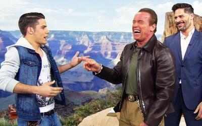 Arnold Schwarzenegger y Joe Manganiello hicieron una película de acción...