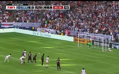 Cristian Techera estrella su penal en el poste y Vancouver cae ante D.C....