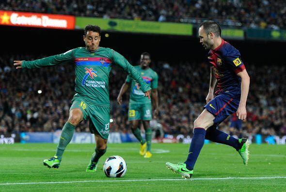 Barcelona recibió al Betis en el Camp Nou en la jornada 32 de la...