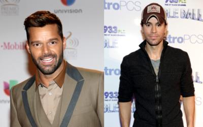 Tanto Ricky Martin como Enrique Iglesias tienen una relación esta...