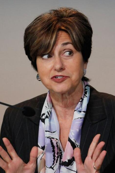 7. Patricia Woertz. De 60 años, la presidenta del Consejo, Presidenta y...