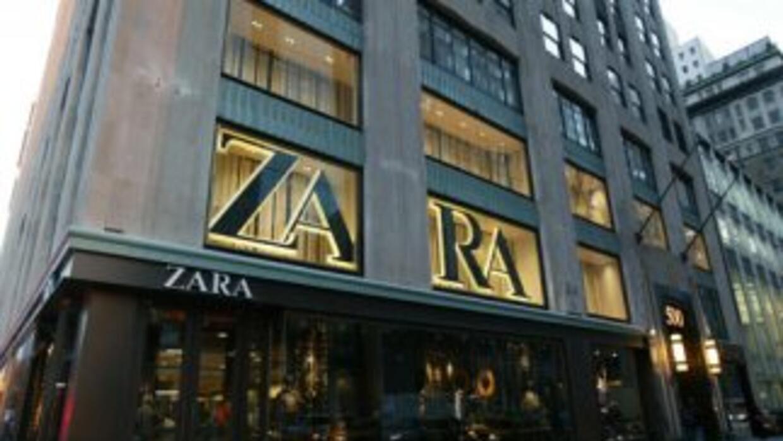 Imagen tomada de Twitter de una tienda Zara en Estados Unidos.